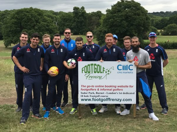 England Cricket Team Barnet Footgolf Course London
